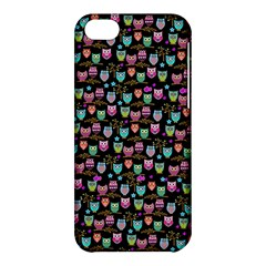 Happy Owls Apple Iphone 5c Hardshell Case by Ancello