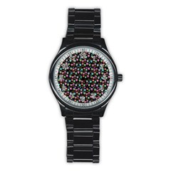 Happy Owls Sport Metal Watch (black) by Ancello