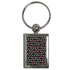 Happy Owls Key Chain (rectangle) by Ancello