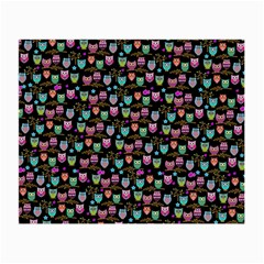 Happy Owls Glasses Cloth (small) by Ancello