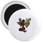 Faerie Nymph Fairy with outreaching hands 3  Button Magnet