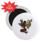 Faerie Nymph Fairy with outreaching hands 2.25  Button Magnet (10 pack)