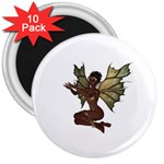 Faerie Nymph Fairy with outreaching hands 3  Button Magnet (10 pack)
