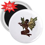 Faerie Nymph Fairy with outreaching hands 3  Button Magnet (100 pack)