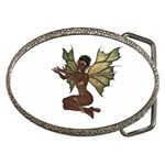 Faerie Nymph Fairy with outreaching hands Belt Buckle (Oval)