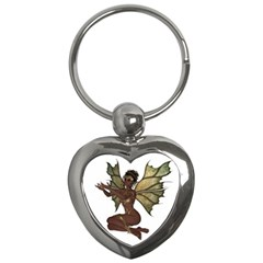 Faerie Nymph Fairy With Outreaching Hands Key Chain (heart) by goldenjackal