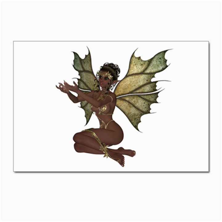 Faerie Nymph Fairy with outreaching hands Postcard 4  x 6