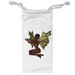 Faerie Nymph Fairy With Outreaching Hands Jewelry Bag by goldenjackal