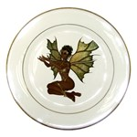 Faerie Nymph Fairy with outreaching hands Porcelain Display Plate