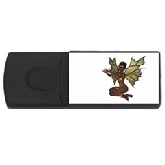 Faerie Nymph Fairy With Outreaching Hands 4gb Usb Flash Drive (rectangle) by goldenjackal