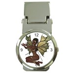 Faerie Nymph Fairy with outreaching hands Money Clip with Watch
