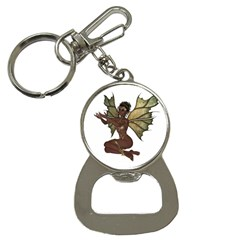 Faerie Nymph Fairy With Outreaching Hands Bottle Opener Key Chain by goldenjackal