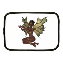 Faerie Nymph Fairy With Netbook Sleeve (medium)