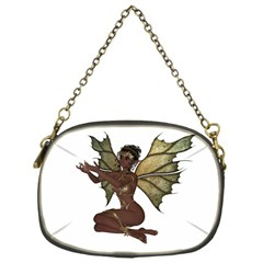 Faerie Nymph Fairy With Outreaching Hands Chain Purse (one Side) by goldenjackal