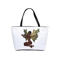 Faerie Nymph Fairy With Outreaching Hands Large Shoulder Bag