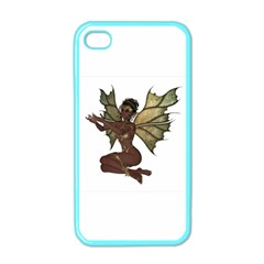 Faerie Nymph Fairy With Outreaching Hands Apple Iphone 4 Case (color) by goldenjackal