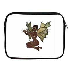 Faerie Nymph Fairy With Outreaching Hands Apple Ipad Zippered Sleeve by goldenjackal