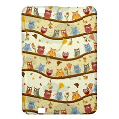 Autumn Owls Kindle Fire Hd 8 9  Hardshell Case by Ancello