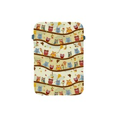 Autumn Owls Apple Ipad Mini Protective Sleeve by Ancello