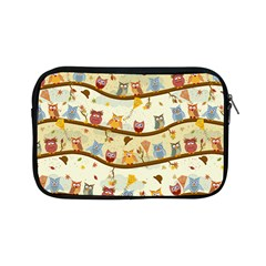 Autumn Owls Apple Ipad Mini Zippered Sleeve by Ancello