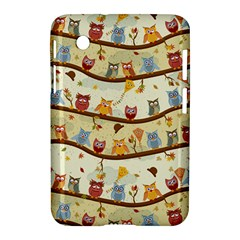 Autumn Owls Samsung Galaxy Tab 2 (7 ) P3100 Hardshell Case
