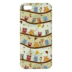 Autumn Owls Iphone 5s Premium Hardshell Case by Ancello