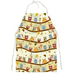 Autumn Owls Apron