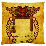 Natural Woman Pillow - Large Cushion Case (Two Sides)