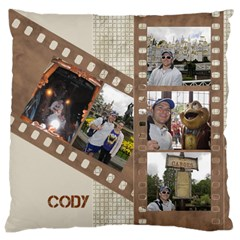 Film Large Cushion Case (2 Sided) By Deborah   Large Cushion Case (two Sides)   L5uonk2bacq9   Www Artscow Com Back