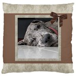 Chocolate Large Cushion Case - Large Cushion Case (One Side)