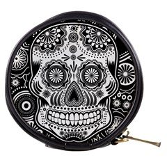 skull Mini Makeup Bag by Ancello