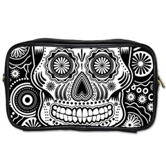 Skull Toiletries Bag (two Sides) by Ancello