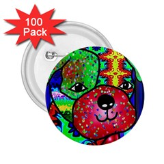 Pug 2.25  Button (100 pack)