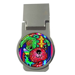Pug Money Clip (round)