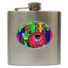 Pug Hip Flask by Siebenhuehner