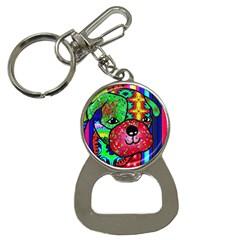Pug Bottle Opener Key Chain