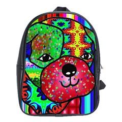 Pug School Bag (large)