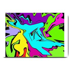 Abstract Large Door Mat by Siebenhuehner