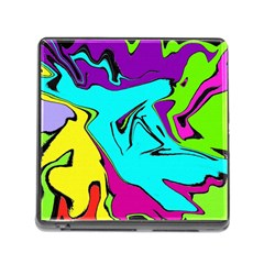 Abstract Memory Card Reader With Storage (square) by Siebenhuehner