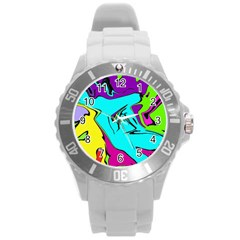 Abstract Plastic Sport Watch (large) by Siebenhuehner