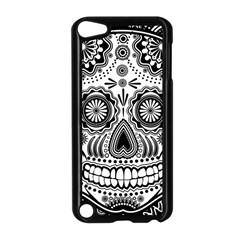Sugar Skull Apple Ipod Touch 5 Case (black) by Ancello