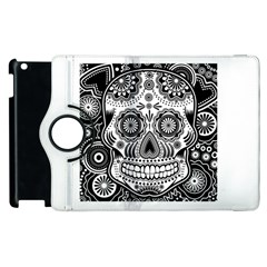 Sugar Skull Apple Ipad 2 Flip 360 Case by Ancello
