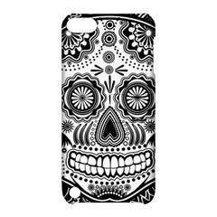 Sugar Skull Apple Ipod Touch 5 Hardshell Case With Stand by Ancello