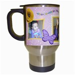 sunshine mug - Travel Mug (White)