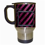 punk girl mug - Travel Mug (White)