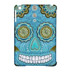 Skull Apple iPad Mini Hardshell Case (Compatible with Smart Cover) by Ancello