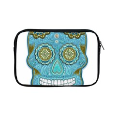 Skull Apple Ipad Mini Zippered Sleeve by Ancello