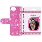 Princess Apple iPhone 5S Leather Folio Case - Apple iPhone 5S/ SE Leather Folio Case