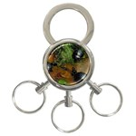 Baby Turtles 3-Ring Key Chain