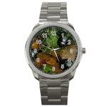 Baby Turtles Sport Metal Watch